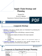 Logistics Supply Chain Strategy