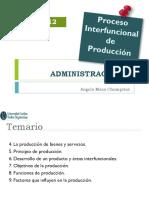 ADMINISTRACION II Semana 12 Procesos Interfuncionales Producción