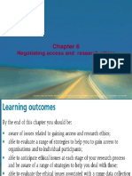 Business Research Chapter 6 Saunders