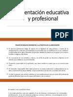 Orientación educativa y profesional