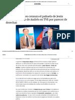 Rosa María Mateo Censura El Pañuelo de Jesús Álvarez y Emilio de Andrés en TVE Por Parecer de Derechas