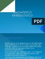 3.3.1 Diagnóstico Kinesiológico