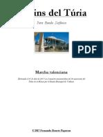 JARDINS DEL TÚRIA - Guión. Fernando Bonete Piqueras
