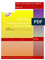 Portafolio I Unidad - DSI II 2018-2