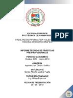 Inforte Tecnico DISEÑO
