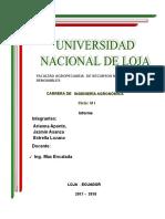 Informe Fisiología de Cítricos