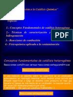 9 Generalidades en Catálisis.