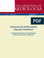 Consenso de Enfermedad Vascular Periferica