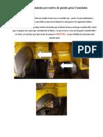Informe Mantenimiento Preventivo de Puente Grúa 5 Toneladas