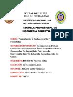 Arbol de Proyectos y Objetivos Diana Isabel Guillen Borda