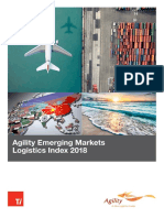 Agility Emerging Markets Logistics Index 2018