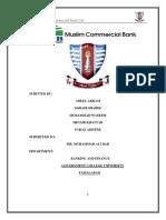 MCB Bank Project
