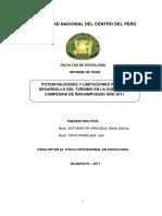 Informe Laguna de Ñahuinpuquio