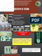 Cultivos in Vitro