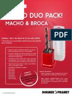 FOLLETO DUO PACK DORMER 2018