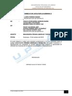 Informe de Modelos de Maquinaria Pesadas