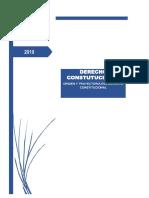 Monografia Derecho Constitucional Origen y Trayectoria Del Derecho Constitucional