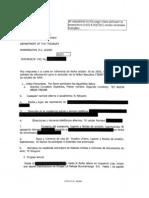 LCCR 006682-006686 Alicia Arias Triana Questionnaire dated 10/10/2005