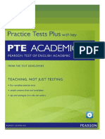 Pte Academic Practice Tests+ With Key