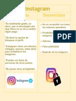 ventajas y desventajas del instagram