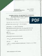 Examenes de Matematica V  y Mecanica de Fluidos - UNAC