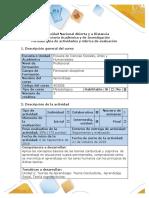 Gui╠üa de actividades y rubrica de evaluacio╠ün ÔÇô fase 2 - Teoria conductista, aprendizaje social y cognoscitivista de aprendizaje.