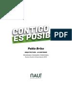 Pablo Brito Consejería Territorial