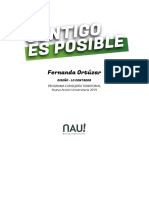 Fernanda Ortúzar Consejería Territorial