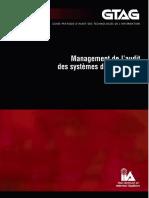 GTAG 4 - Management de l'Audit Des Systèmes d'Informationk