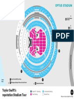 Taylor Swift Seating Map