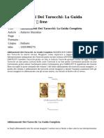 e0aa080f7b Abbinamenti Dei TarocchiLa Guida Completa