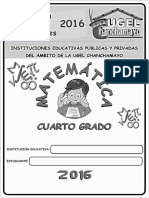 Matemática II - 4ª Grado