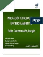 Innovación Tecnológica y Eficiencia Ambiental-Ruido, Contaminación y Energía-CGT-es