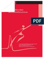 Post-Stroke Rehabilitation English Brochure