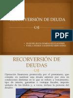 2.3 Manejo de La Reconversión de Deudas