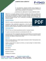 FRIXO 270 GRASA DE ALTO DESEMPE+æO GRADO ALIMENTICIO