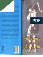 Afecciones Contemporáneas Del Sujeto. Héctor Gallo