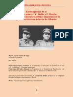 Stalin & Hoxha - Reunión de Marzo de 1949 (Registro Soviético) - CM-L