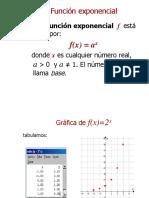 x Funciones Exponenciales