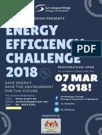 Poster Hebahan EE Challenge 2018