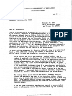 Harvard FERPA Letter 082291