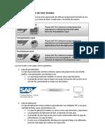 Aquitectura 3 niveles SAP