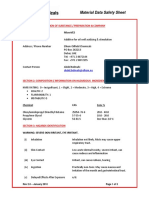 MicroVES MSDS