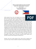 The Impact of Zamboanga Siege on Women Survivors