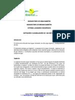 Biodigestores de geo de pvc y equipos para generación de energía
