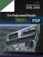 Sony DSR-2000
