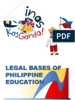 The Philippine Educational System and Its Legal Bases