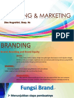 Branding & Marketing Materi Kuliah Lagi