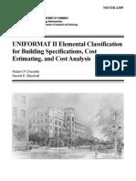 1. uniformat II elemental classification for building cost estimating & analysis.pdf