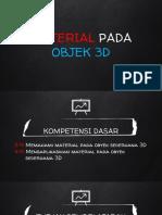 PPT Material Objek 3D